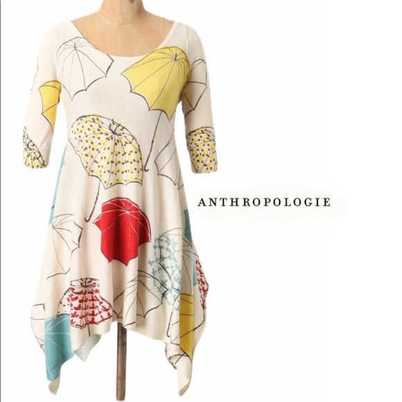 Anthropologie Tops Field And Flowerrainy Day Tunic By Wendi Reed Poshmark